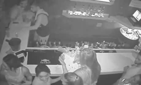 DeAndre Johnson Punches Woman