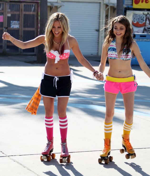 Ashley Tisdale and Sarah Hyland