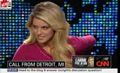 Carrie Prejean Throws Hissy Fit on Larry King Live