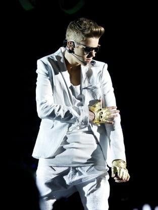 Justin Bieber Stays Cool