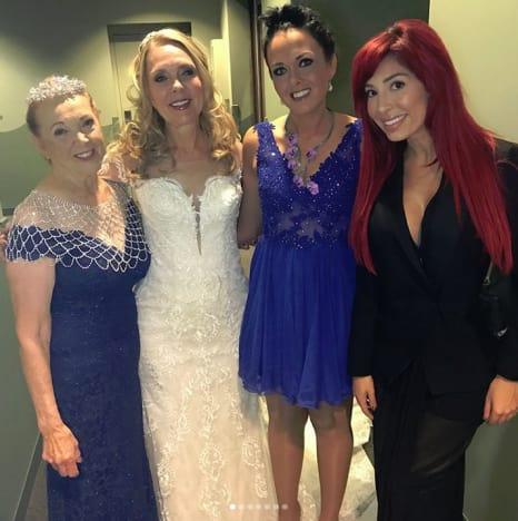 Debra Danielsen Wedding, Farrah Abraham