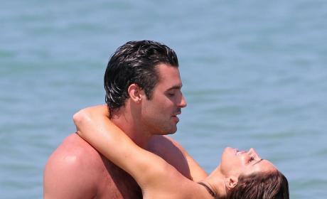 Matt Hahn and Rachel Uchitel