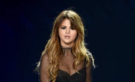 Selena Gomez Inside Staples Center