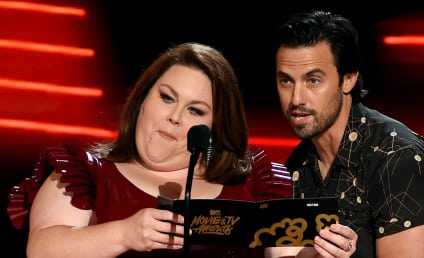 Chrissy Metz Defends Latex Dress, Sends Message to Body Haters