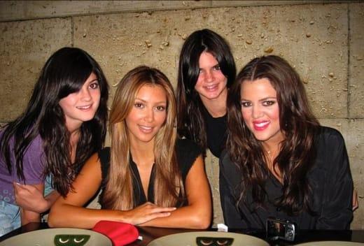 Kim, Kylie, Kendall, Khloe en 2009