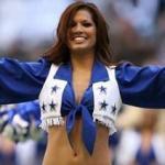Melissa Rycroft, Dallas Cowboys Cheerleader
