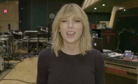 Taylor Swift Comeback Concert Announcement