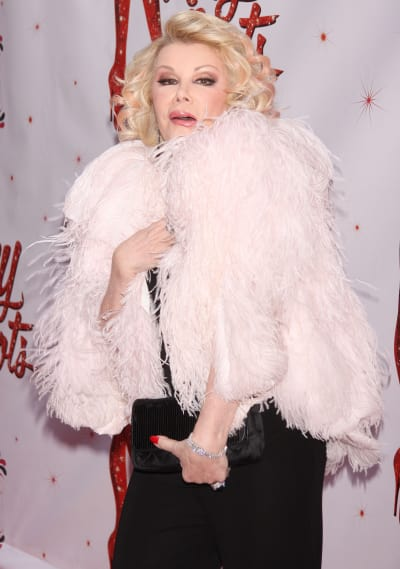 Joan Rivers on the Red Carpet