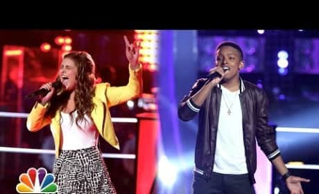 Anthony Paul vs. Jacquie Lee - The Voice Knockout