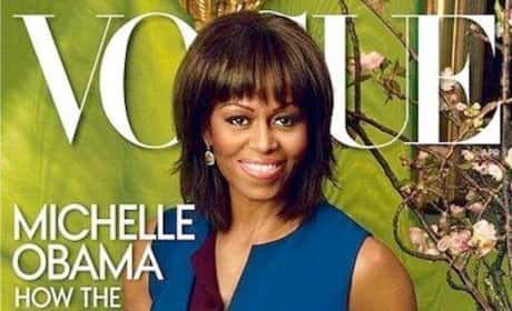 What do you think of Michelle's Vogue cover?