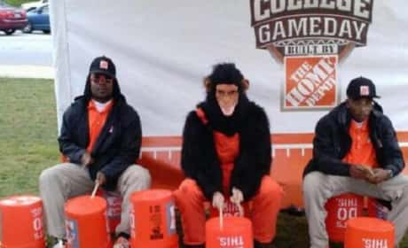 Home Depot Racist Photo