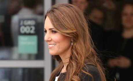 Kate Middleton Baby Bump Photograph