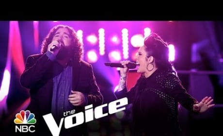 """Kat Perkins vs. Patrick Thomson: """"Whenever I Call You 'Friend"""" (The Voice)"""