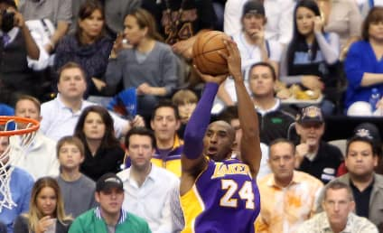 Kobe Bryant Also Rushes to the Side of Lamar Odom