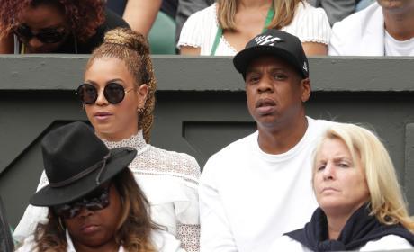 Beyonce at Wimbledon