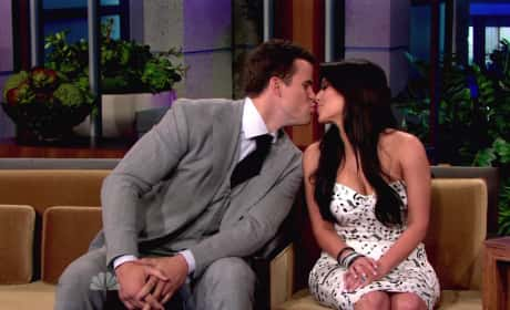 Kim and Kris Kiss