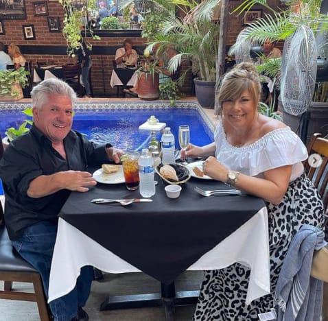 Caryn Chandler and Matt Roloff in Mexico