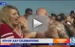 Courageous Reporter Gets Puked on During Live Broadcast