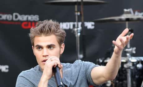 Paul on the Mic