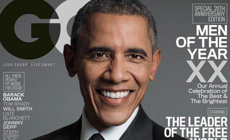 Barack Obama GQ Cover