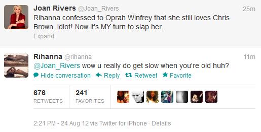 Rih vs. Joan