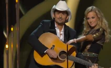 Carrie Underwood and Brad Paisley as CMA Awards Hosts: How'd They Do?
