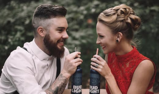 Taylor McKinney & Maci Bookout Sip Bud light