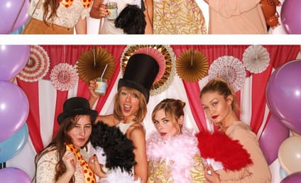 """Taylor Swift Brings """"Whole Team"""" to Jaime King Baby Shower"""