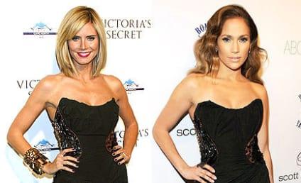 Fashion Face-Off: Heidi Klum vs. Jennifer Lopez