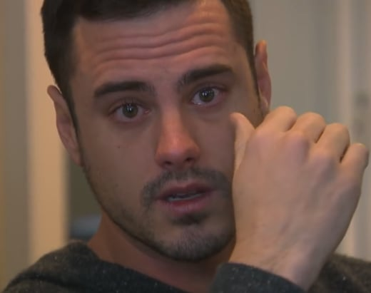 Ben Higgins Cries