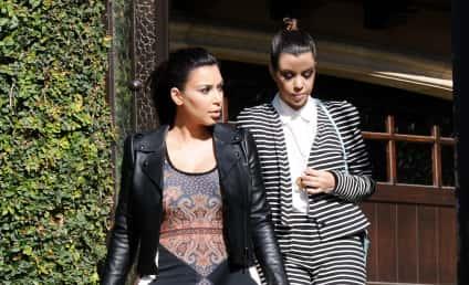 Kourtney Kardashian on Kim Touring with Baby: How Selfish!