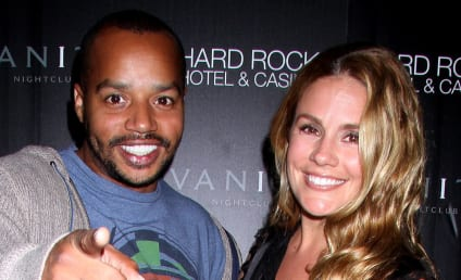 Donald Faison and Cacee Cobb: Engaged!