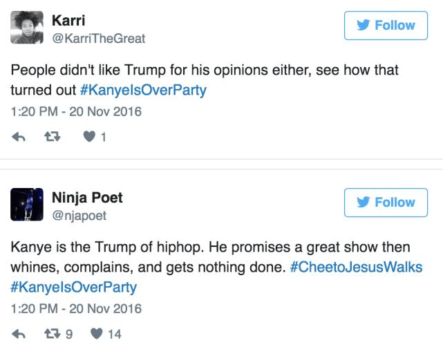Comparisons to Trump