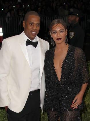 Jay Z and Beyonce MET Gala Pic