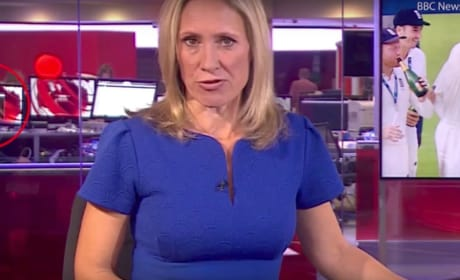 Hardcore Sex Scene Plays Out in Background of BBC News Report