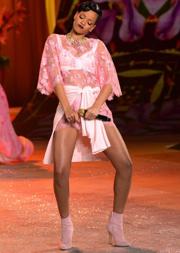 Rihanna at VS Fashion Show