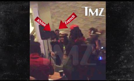 Khloe Kardashian Grinding with French Montana