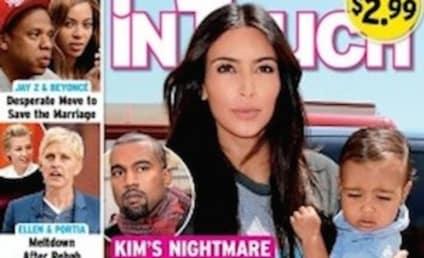 Kim Kardashian and Kanye West: Battling for Custody of Daughter?!?