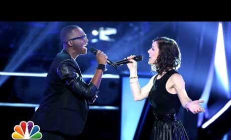 """Kat Robichaud vs. R. Anthony: """"I Don't Want to Miss a Thing"""" (The Voice Battle Round)"""