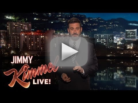 Jimmy kimmel slams trump the president is a total disaster