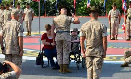 Wyatt Gillette: Terminally Ill Boy Dies One Day After Being Made Honorary Marine