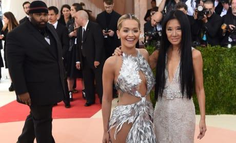 Rita Ora and Vera Wang: 2016 Costume Institute Gala