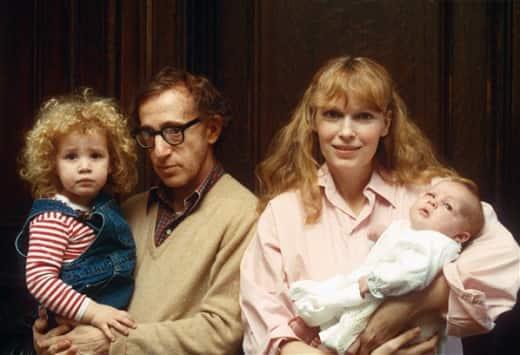 Mia Farrow Family Pic