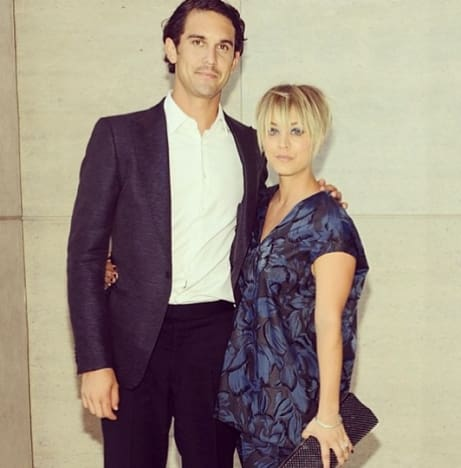 Kaley Cuoco and Ryan Sweeting: Not Smiling!