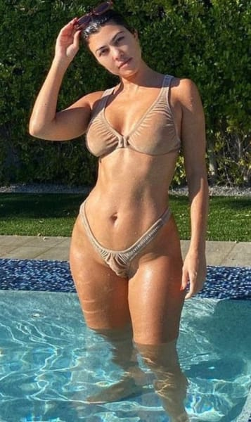 Kourtney Rocking a Bikini in 2020