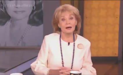 Barbara Walters Says Goodbye: Enjoy The View, Folks