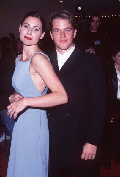 Matt damon and minnie driver