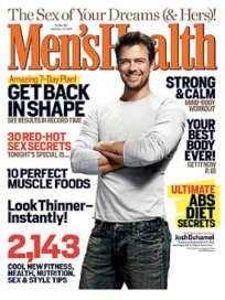 Josh Duhamel in Men's Health