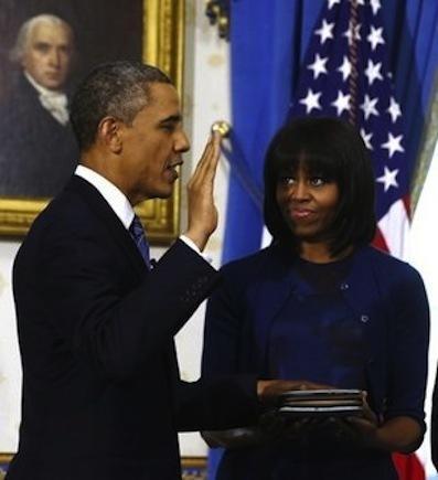 President Obama Sworn In