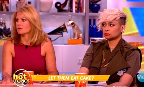 Candace Cameron Bure and Raven-Symone Clash Over Lesbian Wedding Cake on The View